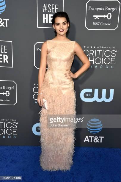 Brianna Hildebrand attends the 24th Annual Critics' Choice Awards at Barker Hangar on January 13 2019 in Santa Monica California