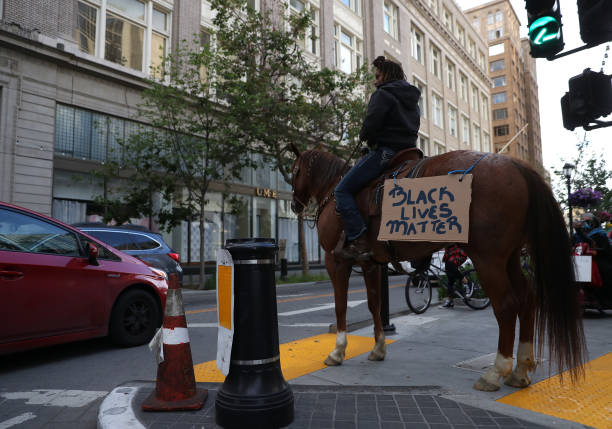 CA: Activists In Oakland Protest Police Brutality In Death Of George Floyd