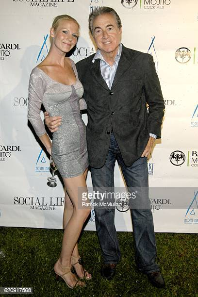 Brianna Swanson and Bruce Lipnick attend Social Life Magazine Issue Release Party Sponsored by Nikki Beach Midtown at Social Life Estate on August 30...