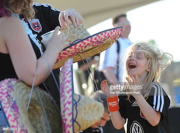 Brianna West of Salisbury MD jokes around with her parents Josh and Anglea West and her uncle Adam Maixner during a Cinco de Mayo celebration before...