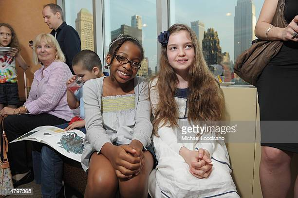 Brianne Allen and Lilly Andersson attend the HBO Documentary screening of I Can Be President at HBO Theater on May 26 2011 in New York City