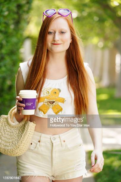 Brianne Buishas is seen on May 14, 2021 in Los Angeles, California.