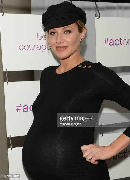 Brianne Davis attends Together 1 Heart charity Hosts Presentation To Announce The #ActBravely Movement at Sofitel Hotel on April 15 2018 in Los...