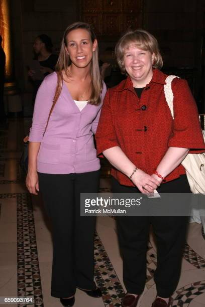Brianne Dishaw and Myrna Stuart attend The Food Allergy Initiative Spring Luncheon at Cipriani 42nd Street on April 22 2009 in New York City