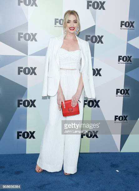 Brianne Howey attends 2018 Fox Network Upfront at Wollman Rink, Central Park on May 14, 2018 in New York City.