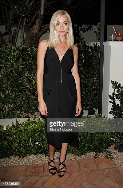Brianne Howey attends BCBGeneration party like a GenGirl Summer Solstice party at Gracias Madre on June 23, 2015 in West Hollywood, California.
