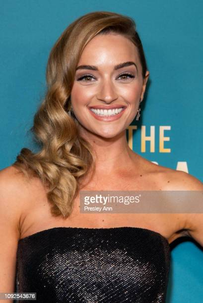 """Brianne Howey attends FOX's """"The Passage"""" Premiere Party at The Broad Stage on January 10, 2019 in Santa Monica, California."""