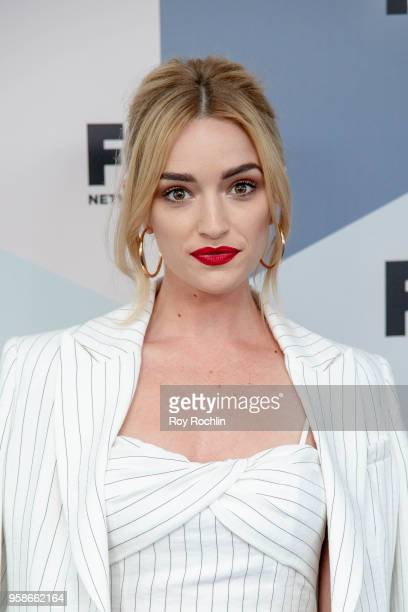 Brianne Howey attends the 2018 Fox Network Upfront at Wollman Rink, Central Park on May 14, 2018 in New York City.