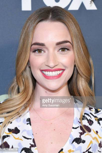 Brianne Howey attends the Fox Winter TCA at The Fig House on February 06, 2019 in Los Angeles, California.