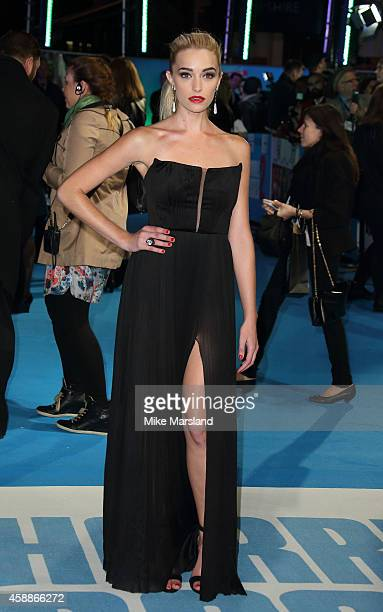 Brianne Howey attends the UK Premiere of Horrible Bosses 2 at Odeon West End on November 12 2014 in London England
