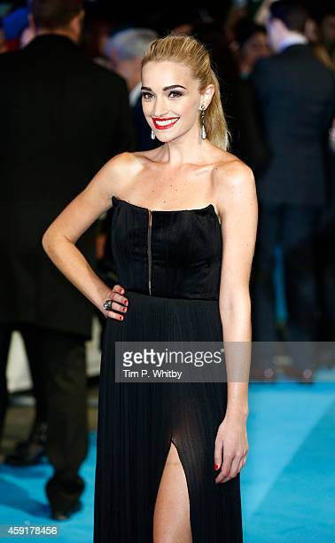 "Brianne Howey attends the UK Premiere of ""Horrible Bosses 2"" at Odeon West End on November 12, 2014 in London, England."