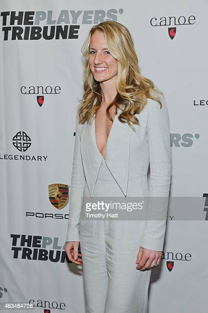 Brianne McLaughlin attends The Players' Tribune Launch Party - www.theplayerstribune.com at Canoe Studios on February 14, 2015 in New York City.
