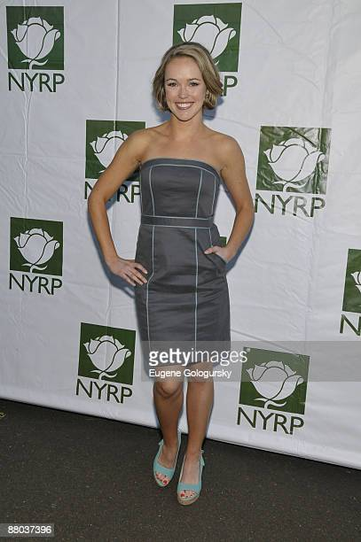 Brianne Moncreif attends the Bette Midler's New York Restoration Project's 8th Annual Spring Picnic at the New Leaf Restaurant Bar on May 19 2009 in...