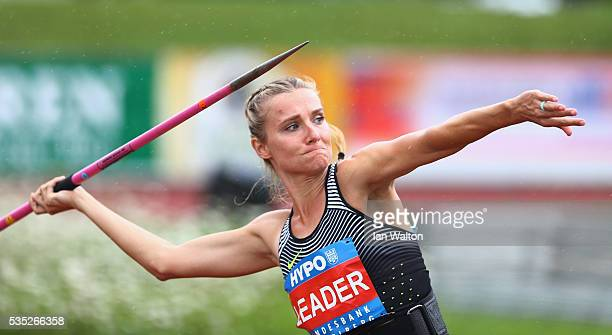 Brianne TheisenEaton of Canada in action in the Women's Heptathlon javelin during the Hypomeeting Gotzis 2016 at the Mosle Stadiom on May 29 2016 in...