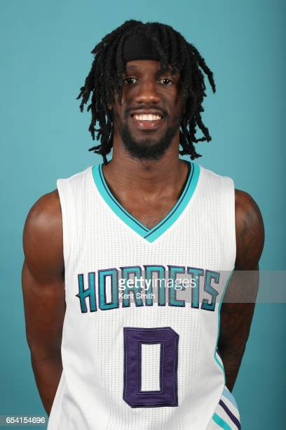 Briante Weber of the Charlotte Hornets poses for a head shot on March 13 2017 at Spectrum Center in Charlotte North Carolina NOTE TO USER User...
