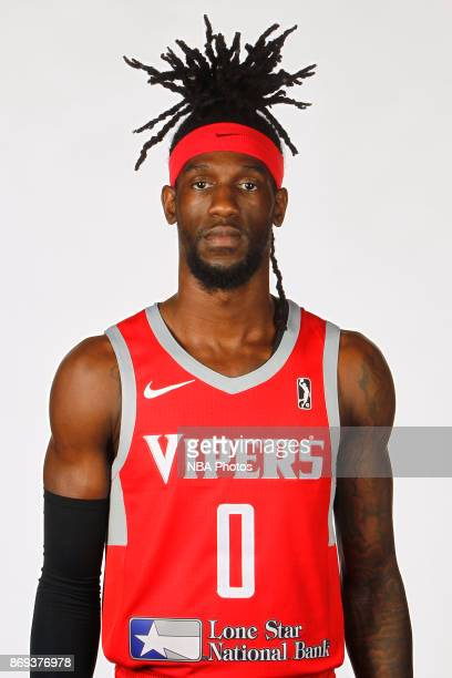 Briante Weber of the Rio Grande Valley Vipers poses for a head shot during the NBA GLeague media day November 1 2017 at the team's practice facility...