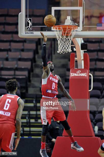 Briante Weber of the Rio Grande Valley Vipers shoots the ball against the Memphis Hustle during an NBA GLeague game on November 10 2017 at Landers...