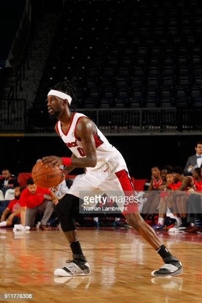 Briante Weber of the Sioux Falls Skyforce drives to the basket against the Rio Grande Valley Vipers during an NBA GLeague game on January 27 2018 at...