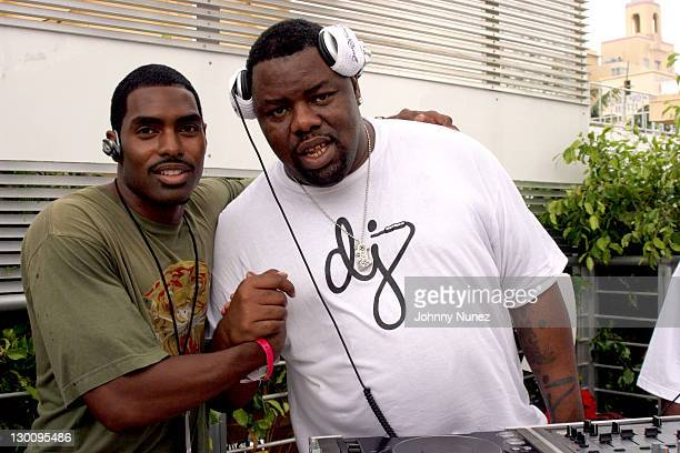 Brice and DJ Biz Markie during 2005 MTV VMA John Singelton Party Hosted by DJ Biz Markie and Snoop Dogg at Sanctuary Hotel in Miami Florida United...