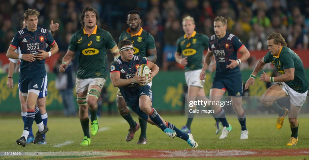 Castle Lager Incoming Series, 1st Test: South Africa v France