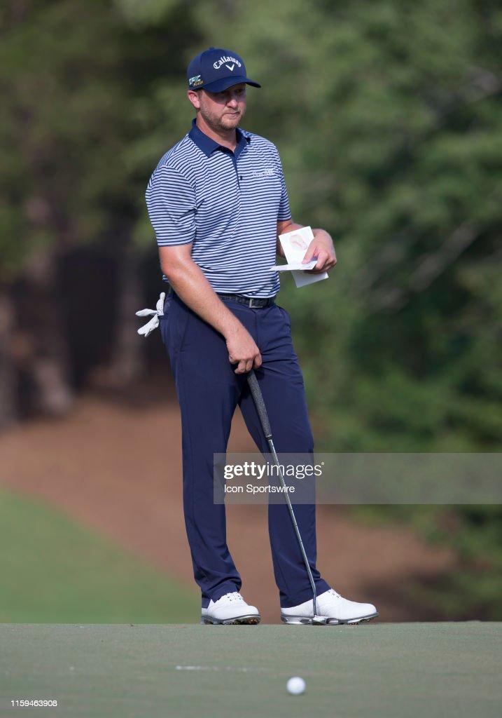 GOLF: AUG 03 PGA - Wyndham Championship : News Photo