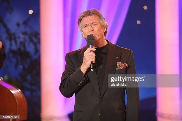 Brice Pierre *Schauspieler Saenger F Auftritt in der TVShow 'Hochzeitsfest der Volksmusik' in Cottbus