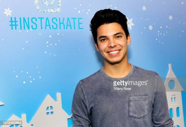 Brice Rivera attends Instagram's #Instaskate 2018 at LA Kings Holiday Ice LA Live on November 27 2018 in Los Angeles California