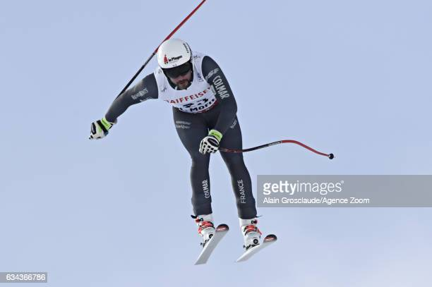Brice Roger of France competes during the FIS Alpine Ski World Championships Men's and Women's Downhill Training on February 09 2017 in St Moritz...