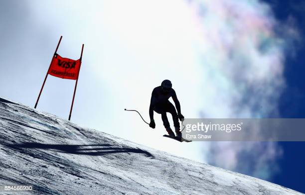 Brice Roger of France competes in the Birds of Prey World Cup downhill race on December 2 2017 in Beaver Creek Colorado