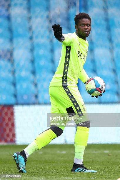 Brice Samba of Nottingham Forest during the Sky Bet Championship match between Sheffield Wednesday and Nottingham Forest at Hillsborough Stadium on...