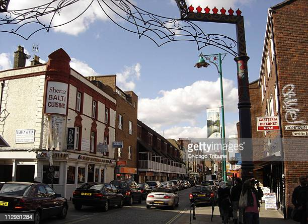 Brick Lane in London's East End has more than 50 curry restaurants within a onemile stretch