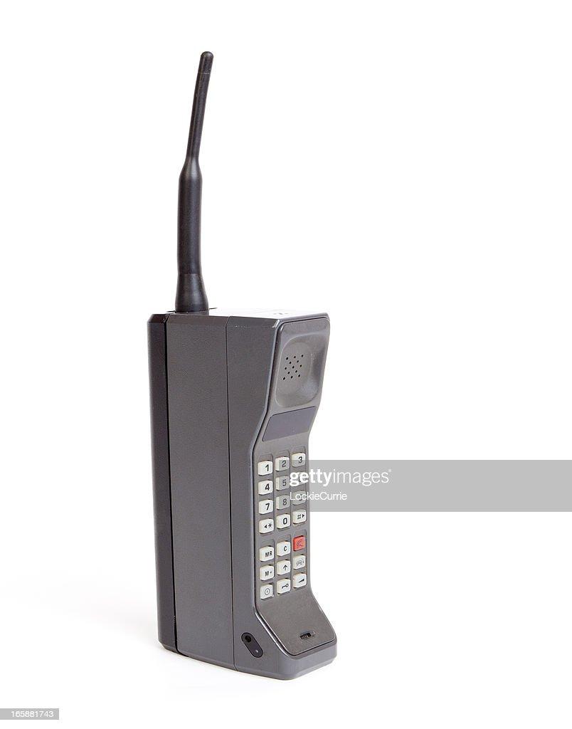 Brick mobile phone : Stock Photo