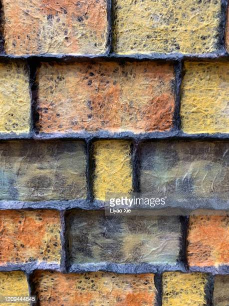 brick texture - liyao xie stock pictures, royalty-free photos & images