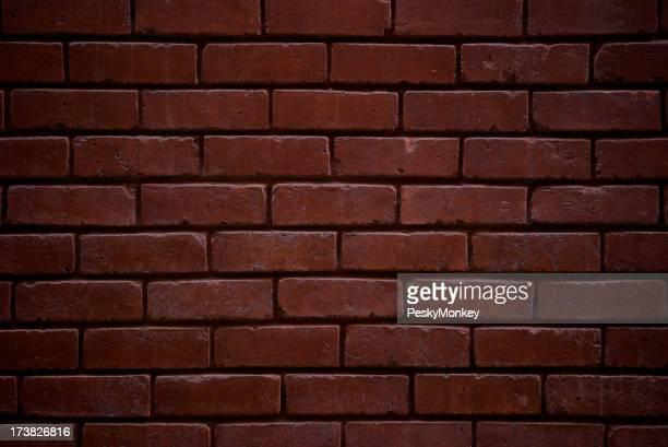Brick Wall Background Classic Dark Red Full Frame