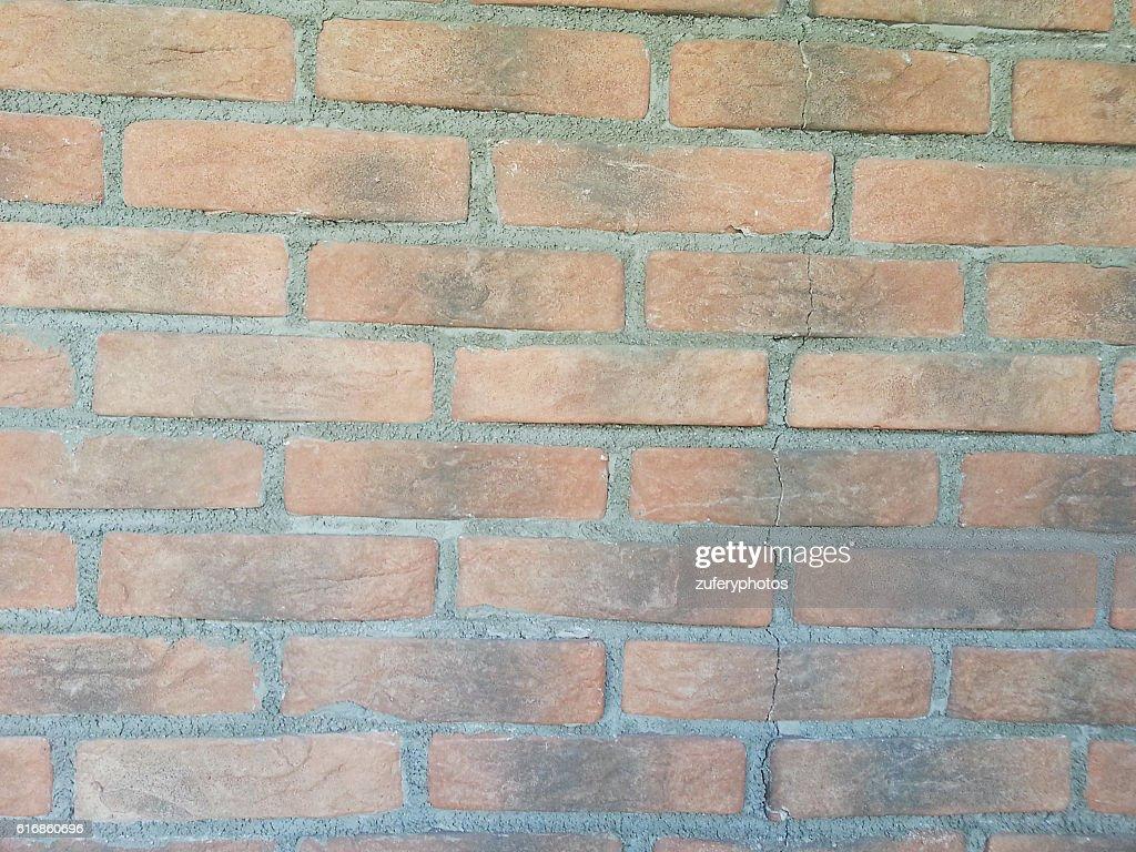 Brick wall background : Stock Photo