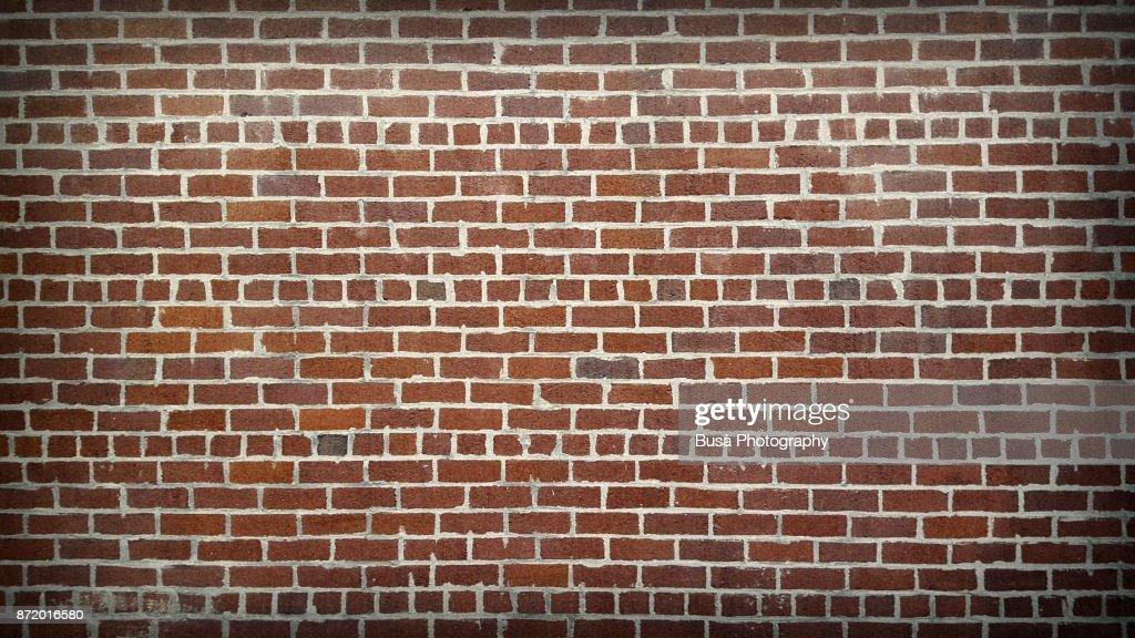 Brick wall in Manhattan, New York City : Stock-Foto