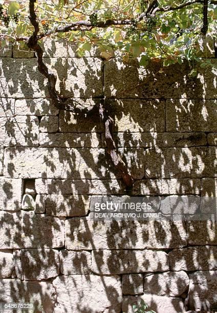 Brick Wall Lindoso Norte Portugal