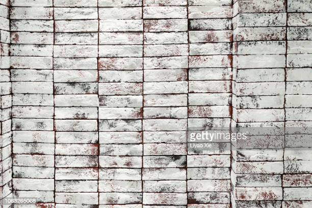 brick wall - liyao xie stock pictures, royalty-free photos & images