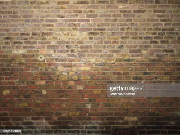 brick wall - old fashioned stock pictures, royalty-free photos & images