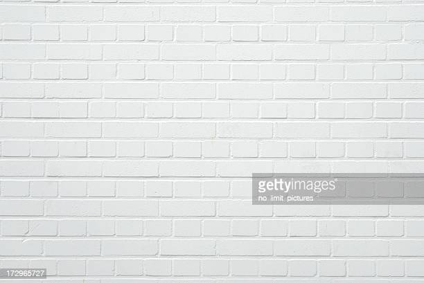 brick wall - white stock pictures, royalty-free photos & images