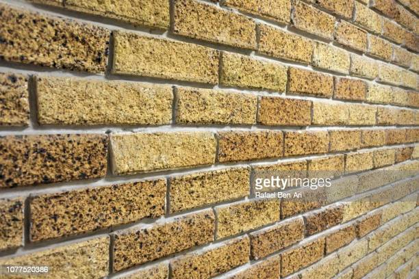 brick wall surface - rafael ben ari imagens e fotografias de stock