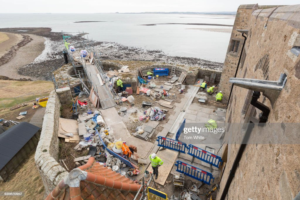 Lindisfarne Castle Undergoes £3 Million Restoration