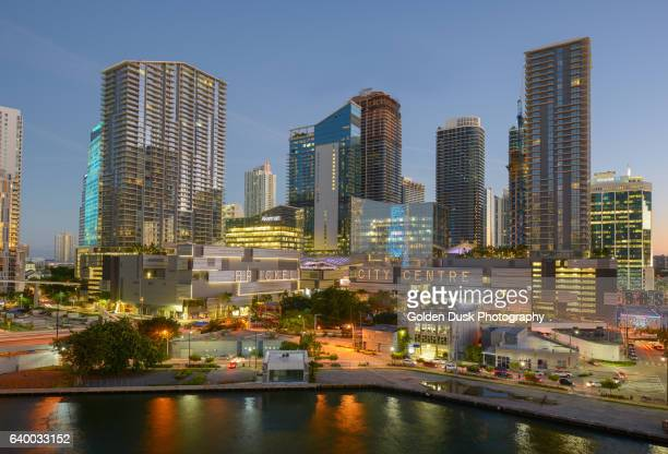 Brickell City Centre at Dusk