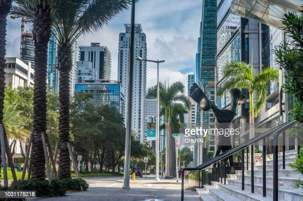 brickell luxury - downtown miami stock pictures, royalty-free photos & images