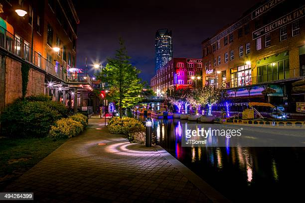 bricktown - oklahoma city stock pictures, royalty-free photos & images