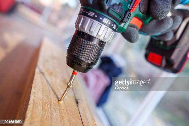 bricolage - visser - drill stock pictures, royalty-free photos & images