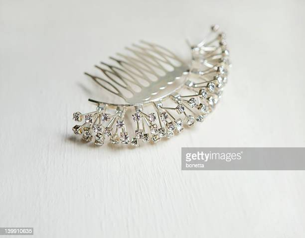bridal hair accessory - hairpin stock pictures, royalty-free photos & images