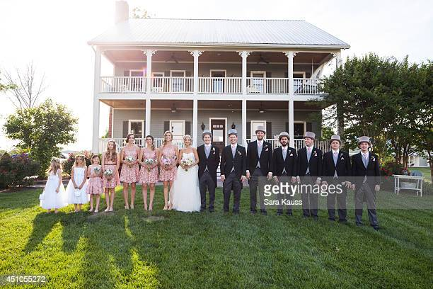 Bridal Party Flower Girl Flower Girl Junior Bridesmaid Junior Bridesmaid Jenn Bostic Madison Flowers Sara Kauss Sarah Darling James Muriel Alastair...