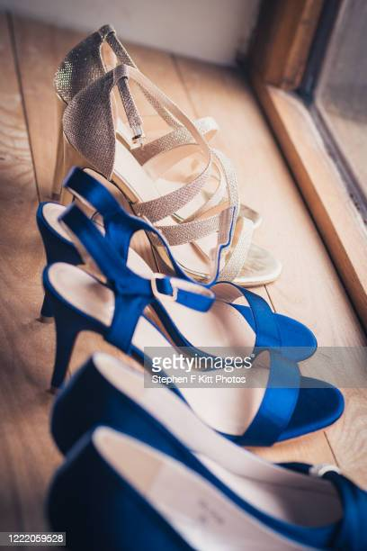 bridal party shoes - memorial event stock pictures, royalty-free photos & images