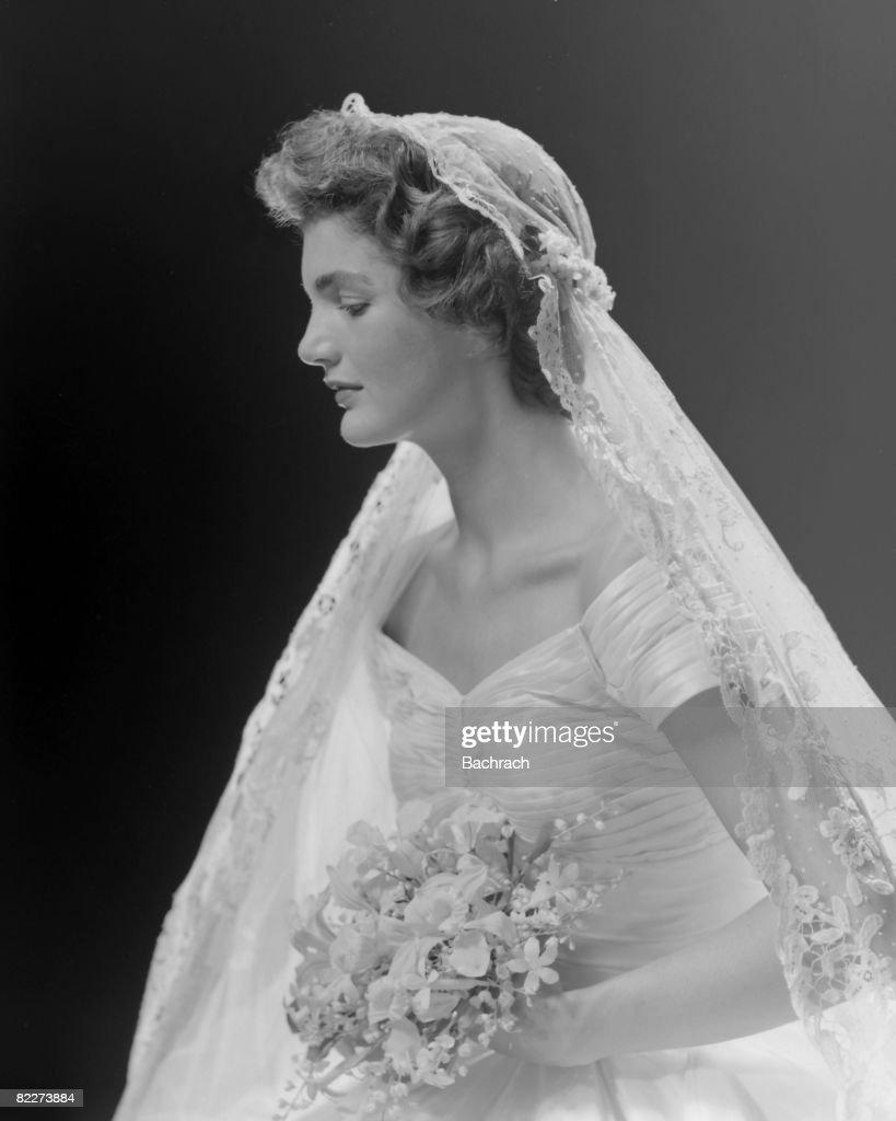 Bridal Portrait Oof Jacqueline Bouvier : News Photo